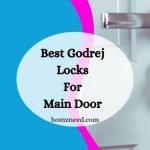 Best Godrej Lock for Main Door